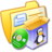 48x48px size png icon of Folder Yellow Software Linux