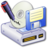 48x48px size png icon of Hard Drive Backups 2