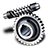 48x48px size png icon of Worm gear