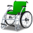 48x48px size png icon of Wheelchair