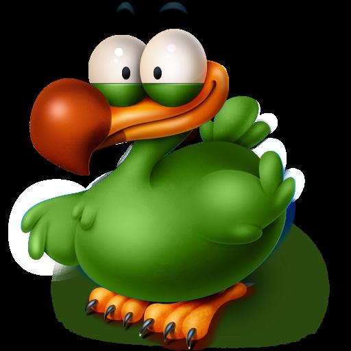 512x512px size png icon of The Extinct Flightless Adium Bird