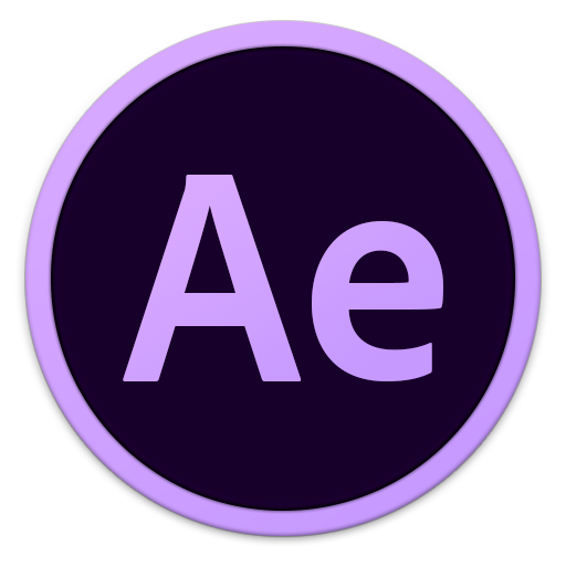 512x512px size png icon of Adobe Ae