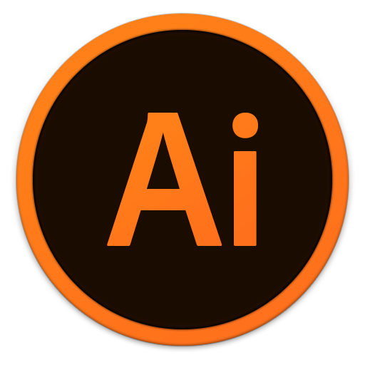 512x512px size png icon of Adobe Ai