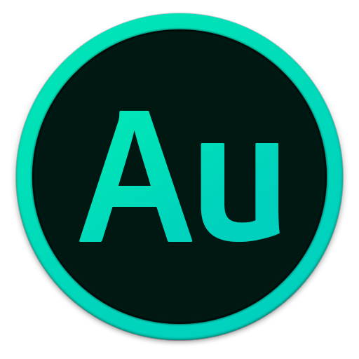 512x512px size png icon of Adobe Au