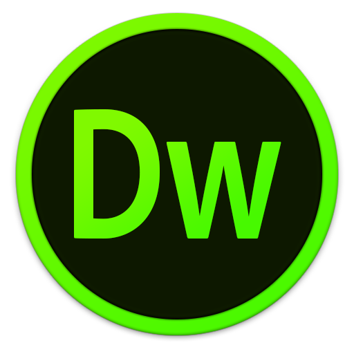 512x512px size png icon of Adobe Dw