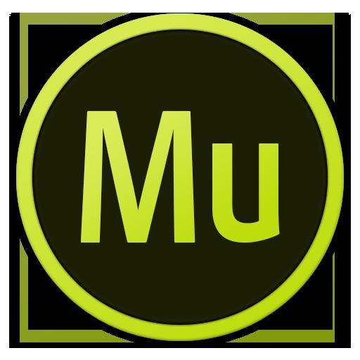 512x512px size png icon of Adobe Mu