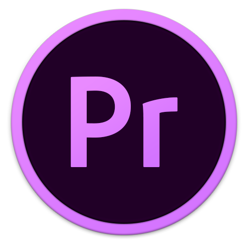 512x512px size png icon of Adobe Pr