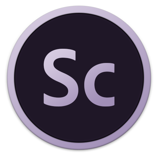 512x512px size png icon of Adobe Sc