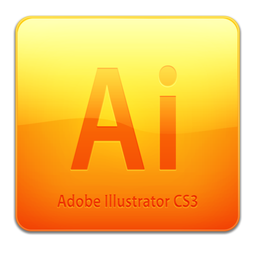 512x512px size png icon of Ai CS3 Icon (clean)