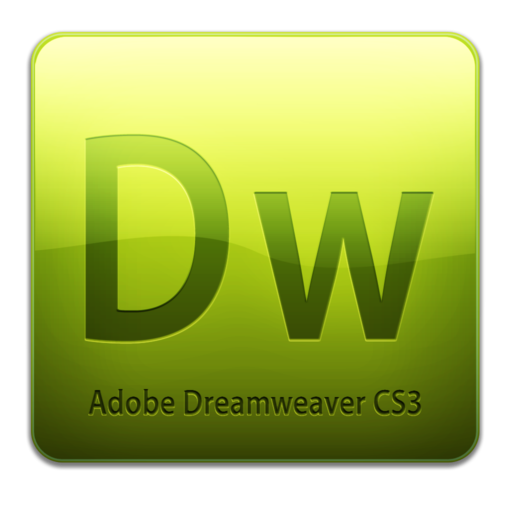 512x512px size png icon of Dw CS3 Icon (clean)