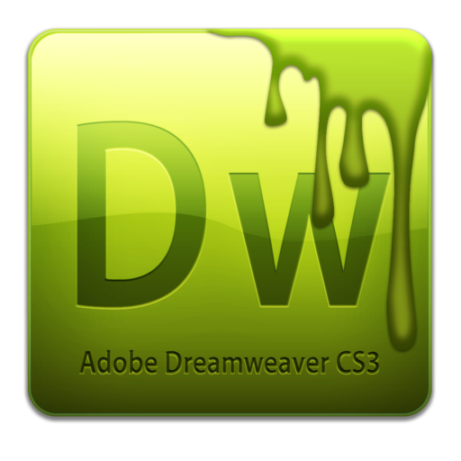 512x512px size png icon of Dw CS3