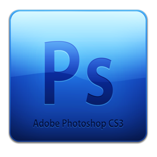 512x512px size png icon of Adobe Photoshop CS3 Icon (clean)