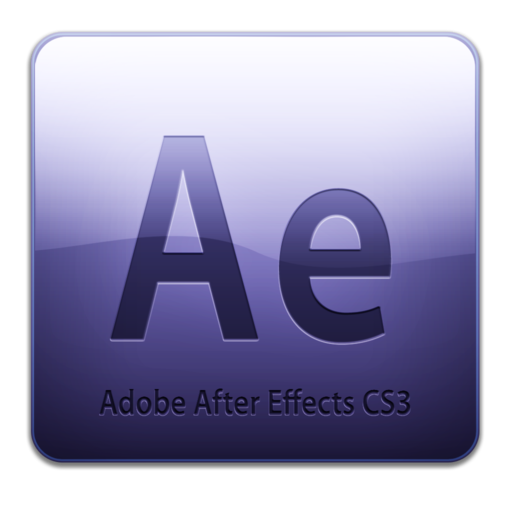 512x512px size png icon of Adobe After Effects CS3 Icon (clean)