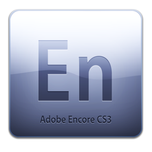 512x512px size png icon of Adobe Encore CS3 Icon (clean)