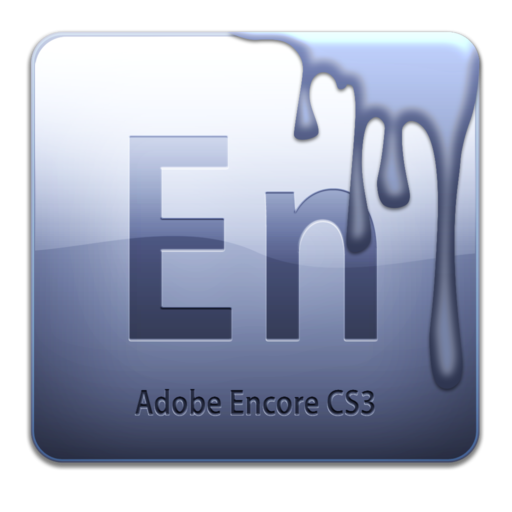 512x512px size png icon of Adobe Encore CS3