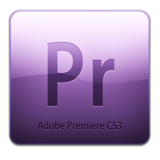 512x512px size png icon of Adobe Premiere CS3 Icon (clean)