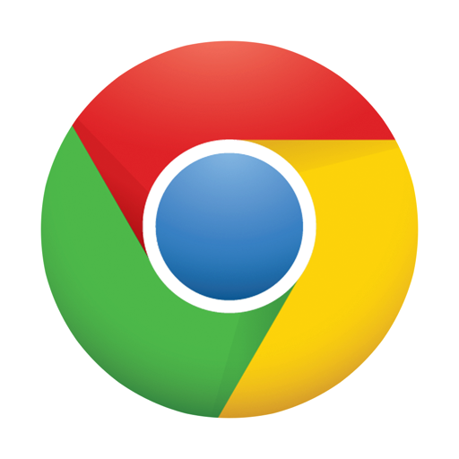 512x512px size png icon of Chrome