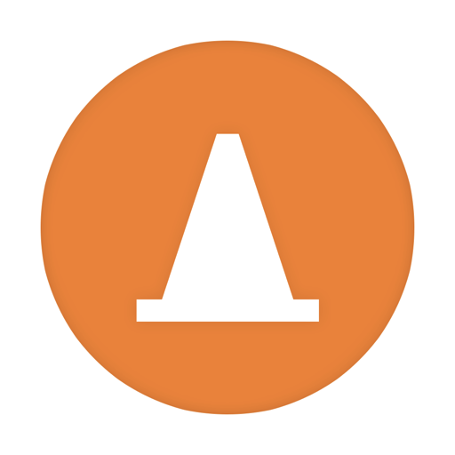 512x512px size png icon of VLC