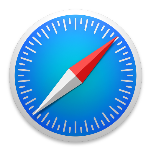 512x512px size png icon of safari