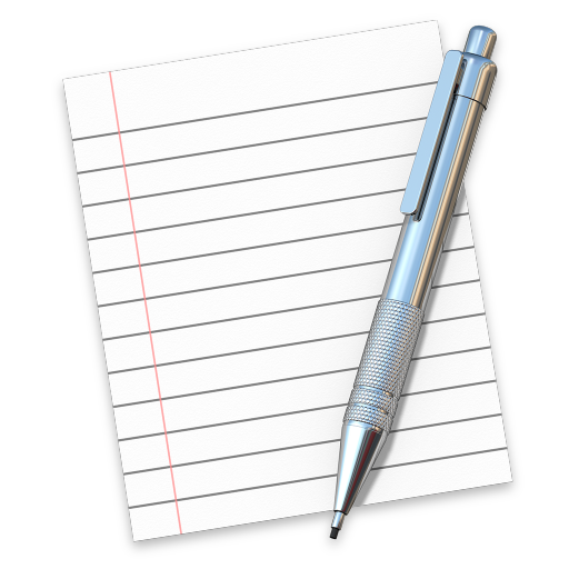 512x512px size png icon of textedit