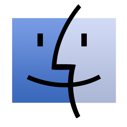 512x512px size png icon of Finder