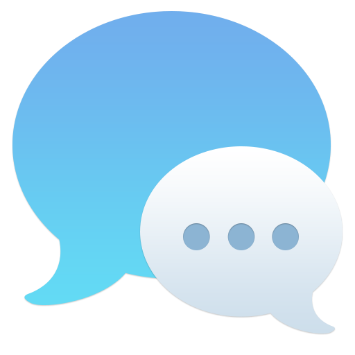 512x512px size png icon of Messages