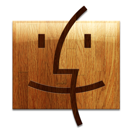 512x512px size png icon of Wooden Finder