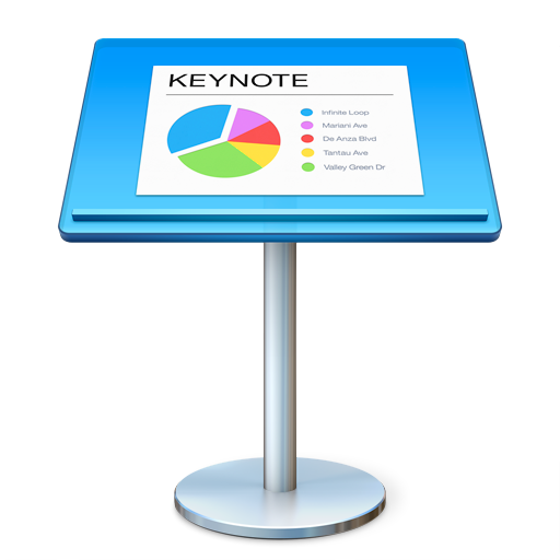 512x512px size png icon of Keynote