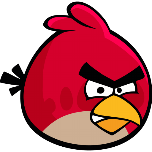 512x512px size png icon of angry bird