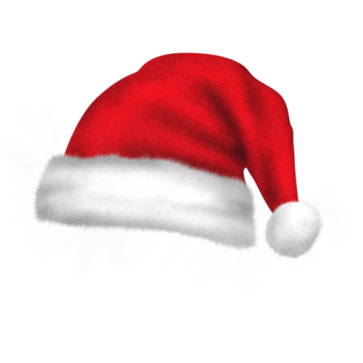 512x512px size png icon of santa hat