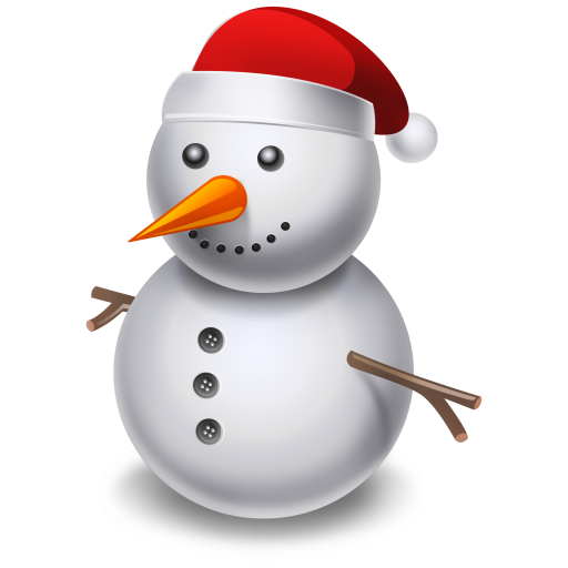 512x512px size png icon of snowman