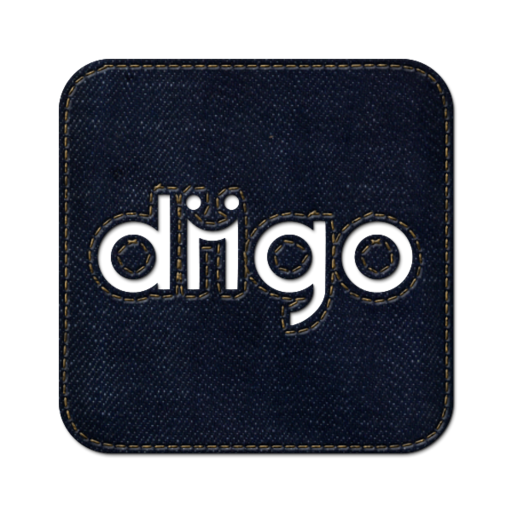 512x512px size png icon of Diigo square