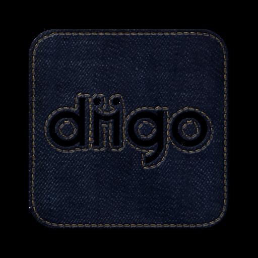 512x512px size png icon of Diigo square