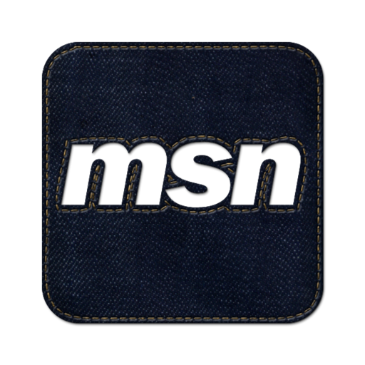 512x512px size png icon of Msn square