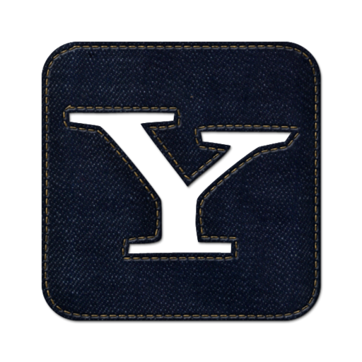 512x512px size png icon of Yahoo square