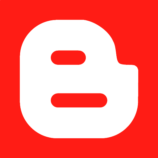 512x512px size png icon of blogger