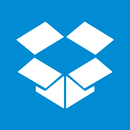 512x512px size png icon of dropbox