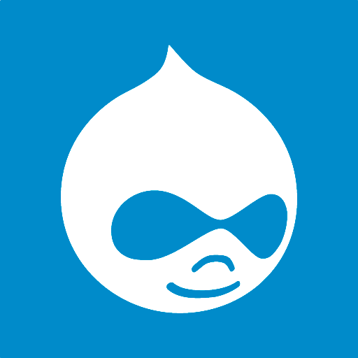 512x512px size png icon of drupal