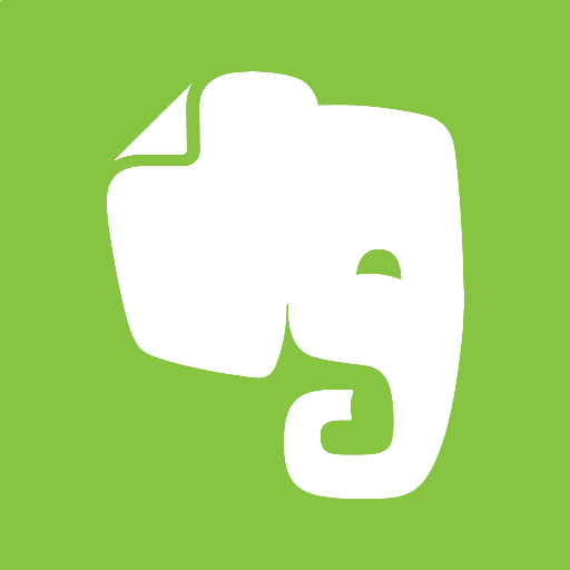 512x512px size png icon of evernote