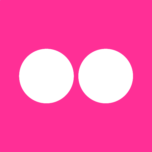 512x512px size png icon of flickr