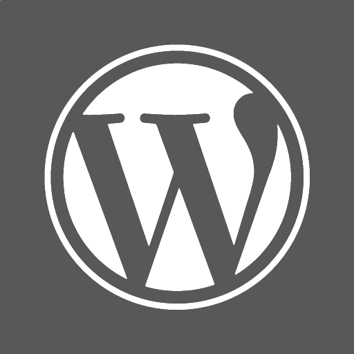 512x512px size png icon of wordpress