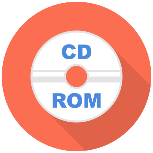 512x512px size png icon of Cd Rom