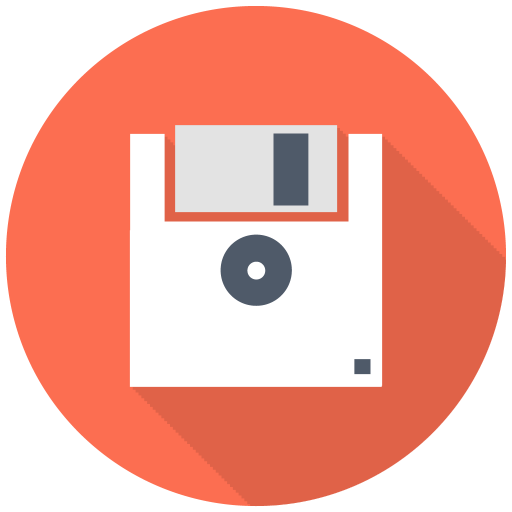 512x512px size png icon of Floppy