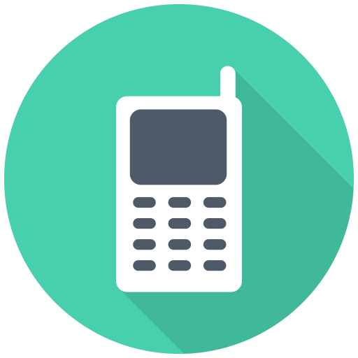 512x512px size png icon of Mobile