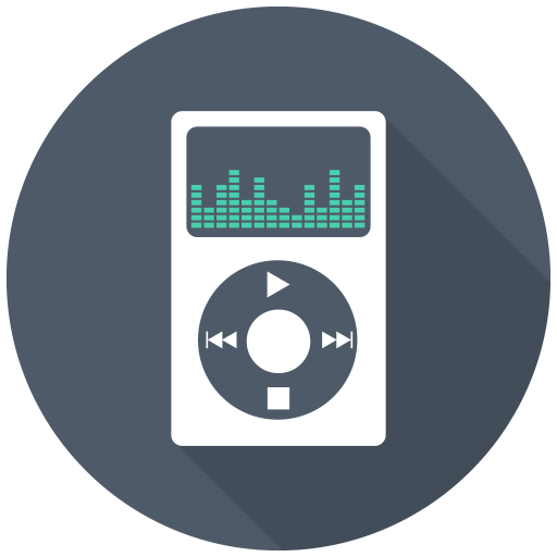512x512px size png icon of Mp3 Player