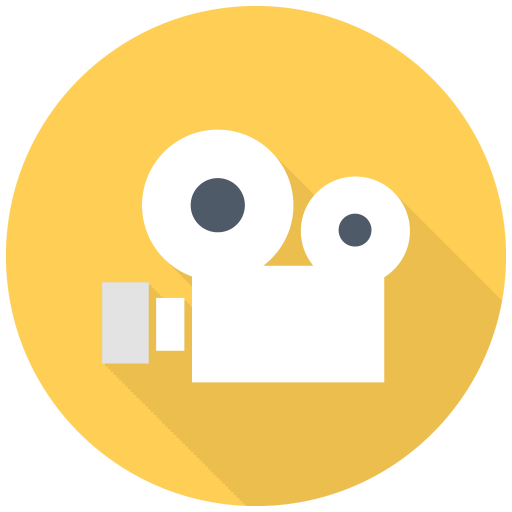 512x512px size png icon of Old Video Cam