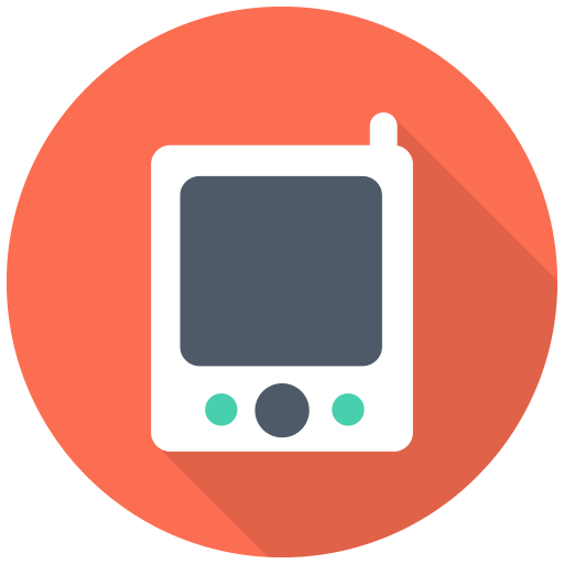 512x512px size png icon of Pager