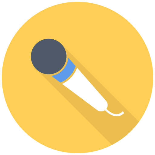 512x512px size png icon of Simple Mic