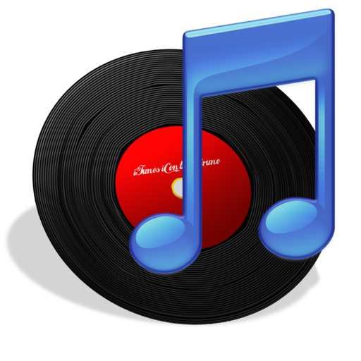 512x512px size png icon of iTunes Vinyl