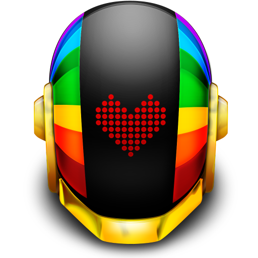 512x512px size png icon of Guyman Helmet Love